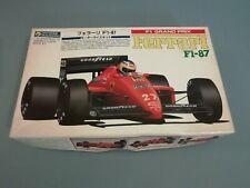 Gunze Sangyo Ferrari f1-87 1/24 scale model kit