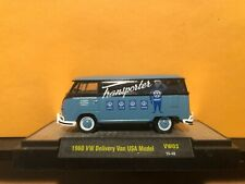 1/64 M2 VOLKSWAGEN VW DELIVERY VAN USA MODEL BLUE