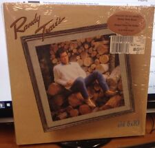 """Randy Travis Old 8 X 10 12"""" LP Warner Brothers In Shrink Country 1988 Near Mint"""