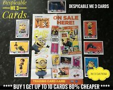 Topps DESPICABLE ME 3 CARDS, Buy 1 Get Up To 10 Cards 80% Cheaper,, No.1-192