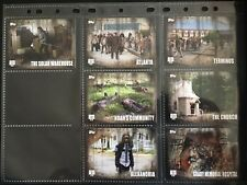 The Walking Dead Season 5 Complete 7 Card Chase Set Locations L - 1 to L - 7