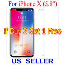 """1x Clear Screen Protector Guard Cover Film Shield For Apple iPhone X  (5.8"""")"""