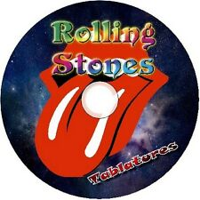 ROLLING STONES BASS & GUITAR TAB TABLATURE CD BEST OF GREATEST ROCK HITS MUSIC