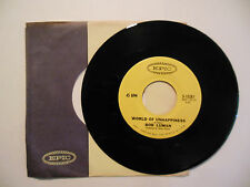 BOB LUMAN World Of Unhappiness / I Like Trains EPIC RECORDS  NEW 45