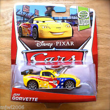 Disney PIXAR Cars JEFF GORVETTE on 2013 WGP WORLD GRAND PRIX THEME diecast 16/17