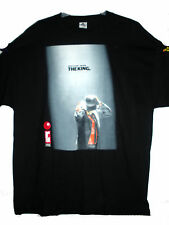 NEW MICHEAL JACKSON THE KING RED EYE 1958-2009 T-SHIRT XXL BLACK 2XL