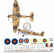 Peddinghaus 1/48 Spitfire Mk VB(trop) Markings George Beurling Malta 1942 2127