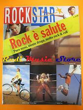rivista ROCKSTAR 133/1991 Toni Childs Enzo Jannacci  Electronic  No cd