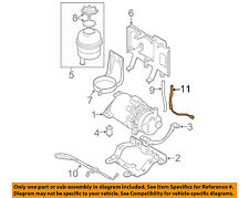 MINI OEM 02-11 Cooper-Power Steering Return Hose 32416781744