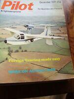 JOB LOT X 10 1971 TO 1974   PILOT AIRCRAFT AVIATION MAGAZINES AUTOGYROS