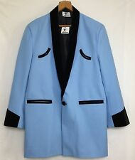 Teddy Boy Drape Jacket 56�Chest Light Blue 1950s Rock n roll Traditional Tailor