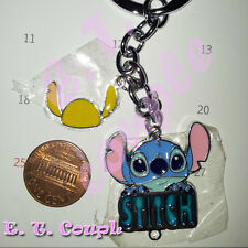 1PC Lilo Stitch adorable Love party fun cell phone strap pendant Disney keyring