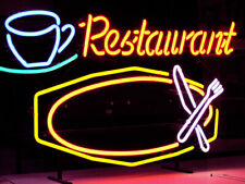 "Restaurant Dish Beer Neon Light Sign 32""x24"" Artwork"