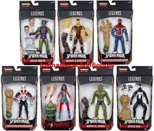 "MARVEL LEGENDS 6 "" AMAZING SPIDERMAN 2017 WAVE 7 SET OF 7 SANDMAN BAF In Stock!"