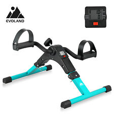 Mini Fitness Pedal Exerciser Bike Leg/Arm Exercise Cycle w/ LCD Display Home Gym