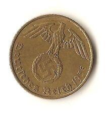1938A Nazi 5 Reichspfennig - KM91 - EF