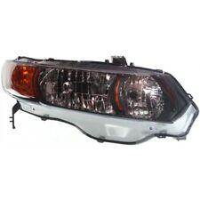 For Civic 06-09, Passenger Side Headlight, Clear Lens