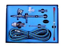 1pc Dual Action Airbrush Kit 0.2mm/0.3mm/0.5mm Air Brush Lure Painting Spray Gun