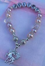 Personalised Unicorn/Horse Bracelet, Birthday Gift/Party Bag/