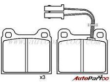 Talbot Horizon, Rancho (1978-1981) *New* Front Brake Pad Set Moprod MDP627