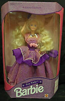1992 Mattel Barbie Very Violet Limited Edition Blonde Purple Gown NRFB  #1859