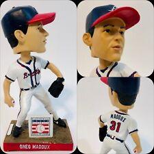 Greg Maddux Bobblehead Atlanta Braves National Baseball Hall of Fame SGA EUC