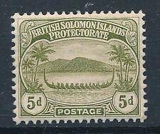 [56948] British Solomon 1908 good MH Very Fine stamp