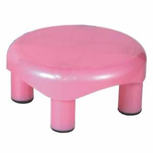 Plastic Strong Round Bathroom Stool Pack of 1