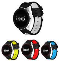 Reloj Inteligente Pulsera Bluetooth iOS Android Smart Watch hombre mujer Monitor