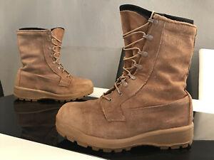BELLEVILLE Retro US VIBRAM 360 GORE-TEX Leder Schuhe BOOTS Classic BEIGE Gr 44,5