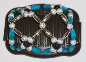 """Angel Wings Hair Clips 4x3.5"""", African Butterfly Style, Magic Combs, Quality S86"""