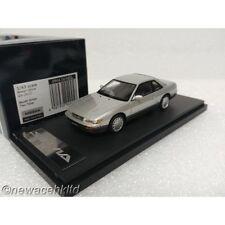 Nissan Silvia Q's (S13) Bluish Silver Two-tone MARK 43 1/43 #PM4369BS