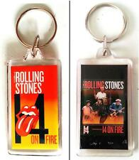 ROLLING STONES 14 ON FIRE Tour 2014 KEYRING Official Licensed Merchandise