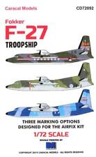 Caracal Decals 1/72 FOKKER F-27 TROOPSHIP