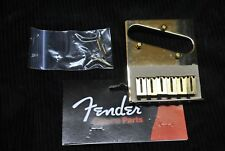 Genuine Fender AM SRS Telecaster bridge Gold Part # 0990807200 Made in USA