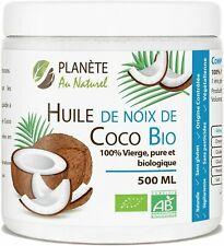 Huile de coco bio vierge pure agriculture biologique nutriment exotique cuisine