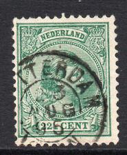 Netherlands 22 1/2 Cent Stamp c1891-94 Fine Used (2625)