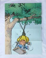 BD - Poster Geant Cedric / 1996 / CAUVIN & LAUDEC / 84 x 57