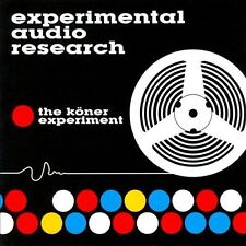 The Köner Experiment by Experimental Audio Research (CD, Jul-2003, United...