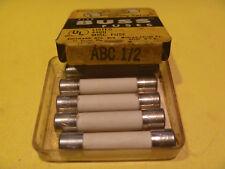 BUSS ABC 1/2 amp 250 volt GLASS FUSE