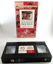 Greg Norman's 50 Years of Holden VHS Video tape Approx 90 Mins PAL Rated G