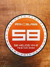 Anamorphic Flare & Bokeh Helios 58mm F2 Cine Lens Full Frame Canon EF