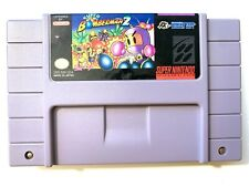 Super Bomberman 2 SUPER NINTENDO SNES Game Tested + Working & Authentic!