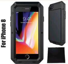 Gorilla caso iPhone 8 armadura a prueba de impactos Impermeable Resistente híbrida de metal resistente