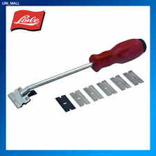 Lisle Tools New 52000 Razor Blade Scraper & 5 Blades, Made In USA