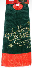 Christmas Tree Skirt 48 inches Merry Christmas, Trim A Home, New w/Tag