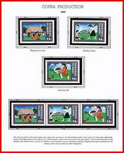 MARSHALL IS. 1987 COPRA PRODUCTION mnh FOOD