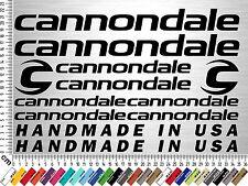 CANNONDALE Set 2 | Fahrrad Rahmen Aufkleber | Bike Frame Sticker | 12 Decals