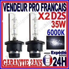 2 AMPOULES D2S BI XENON 35W KIT HID LAMPE DE RECHANGE D ORIGINE FEU PHARE 6000K