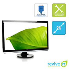 "Dell ST2420LB 24"" LED HD 1080p 1920x1080 16:9 DVI HDMI VGA Monitor - Grade B"